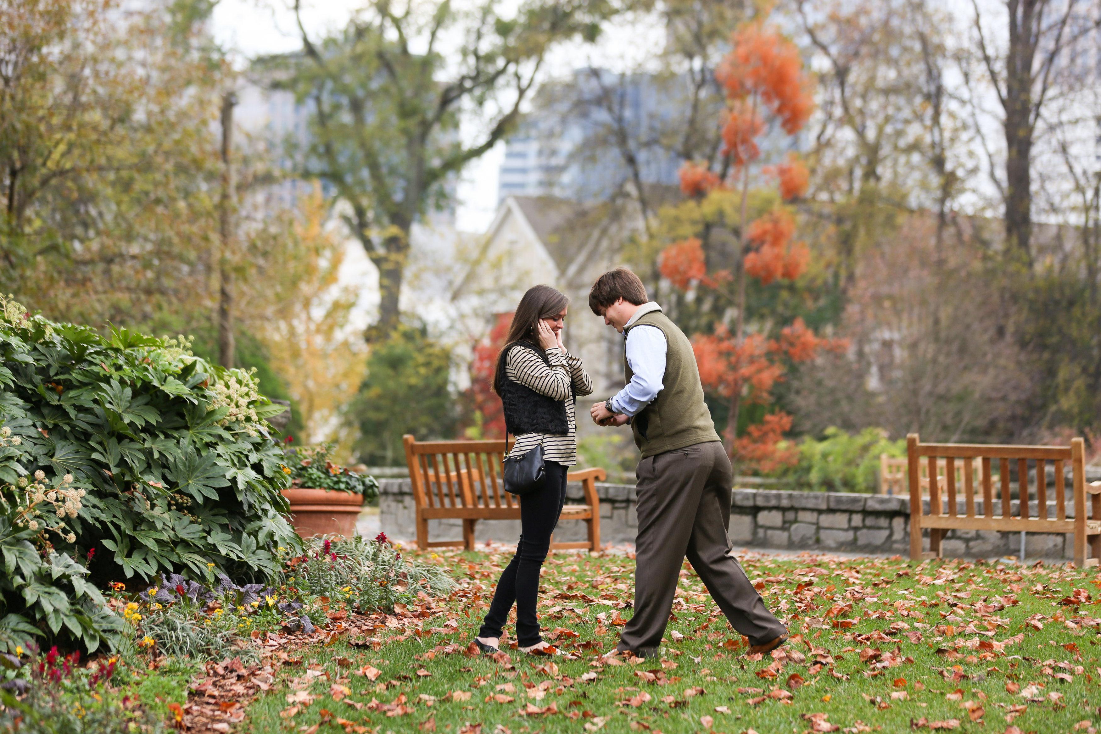 Image 5 of Alex and Lindsey | Atlanta Botanical Gardens Proposal