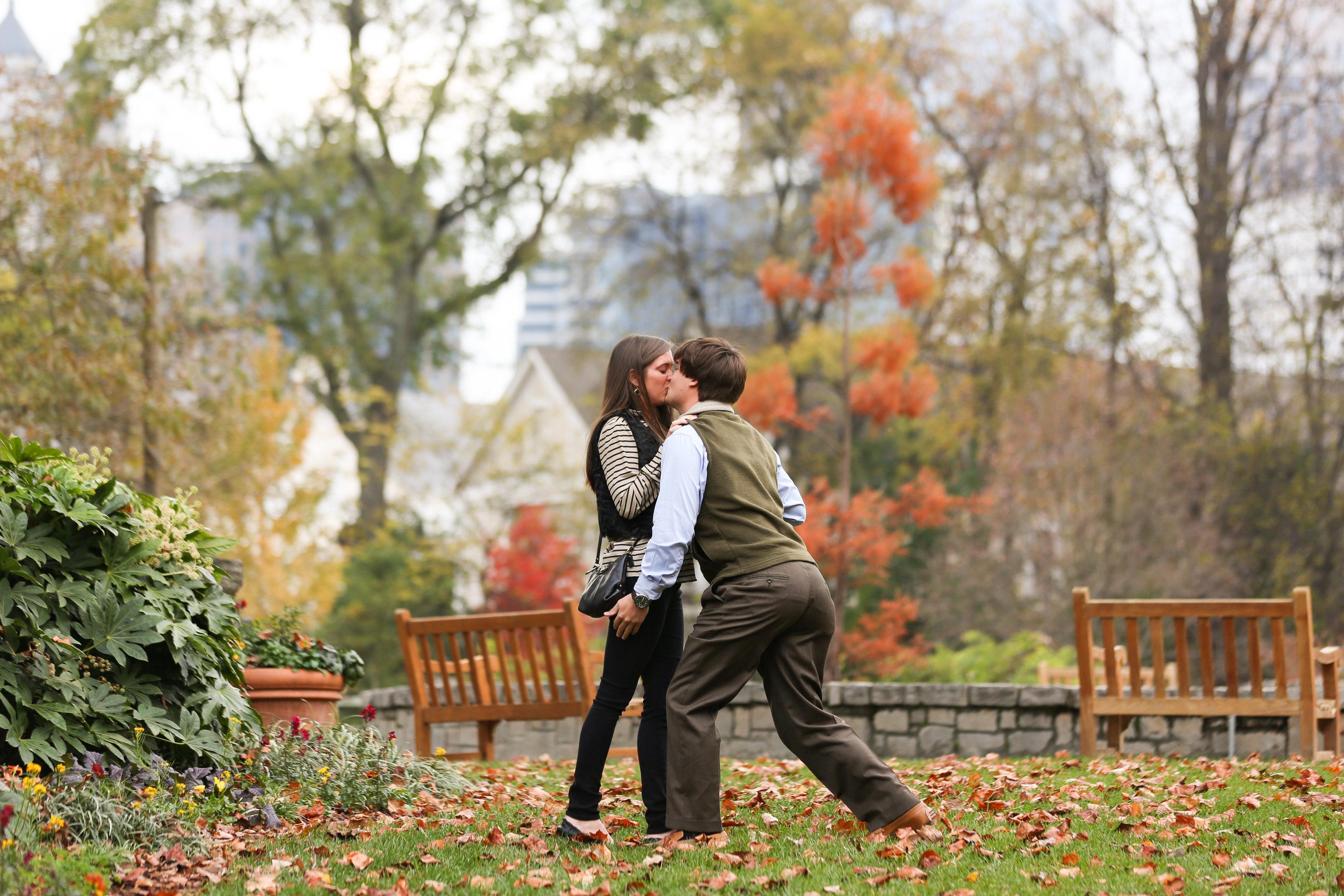 Image 8 of Alex and Lindsey | Atlanta Botanical Gardens Proposal