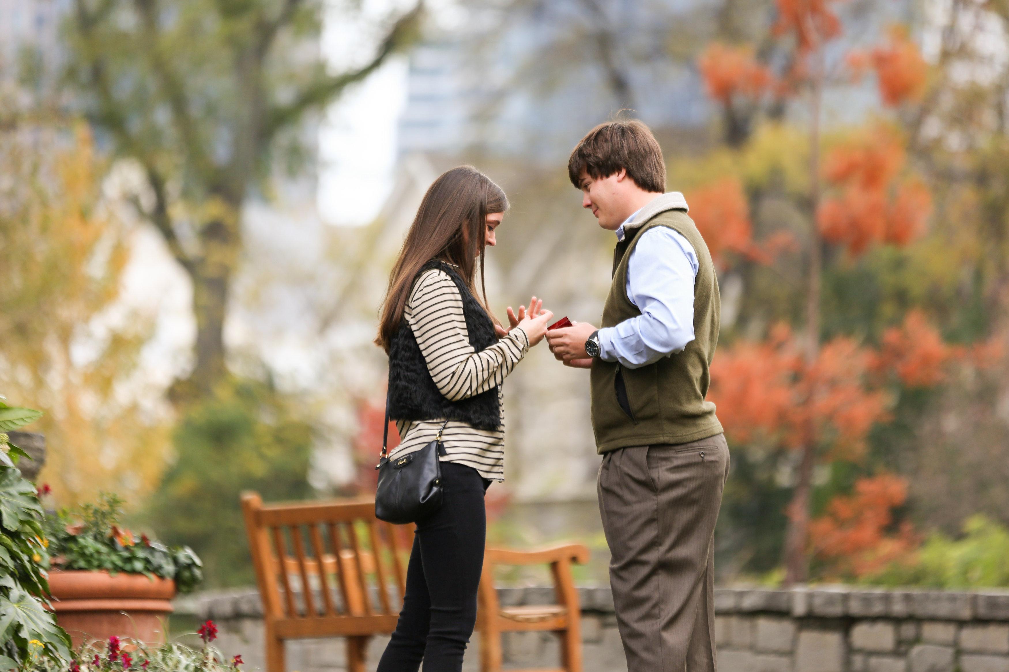 Image 9 of Alex and Lindsey | Atlanta Botanical Gardens Proposal