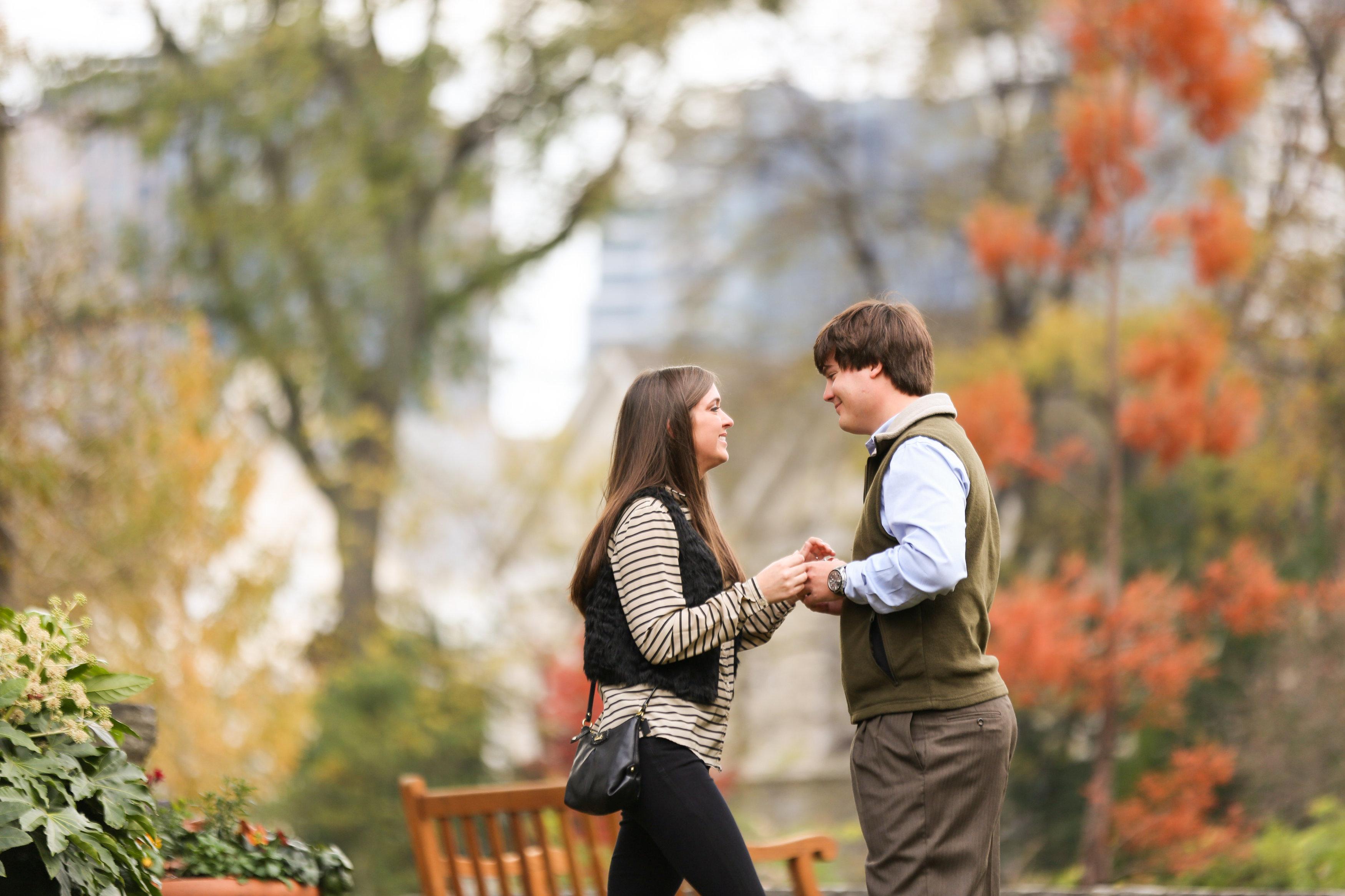 Image 10 of Alex and Lindsey | Atlanta Botanical Gardens Proposal