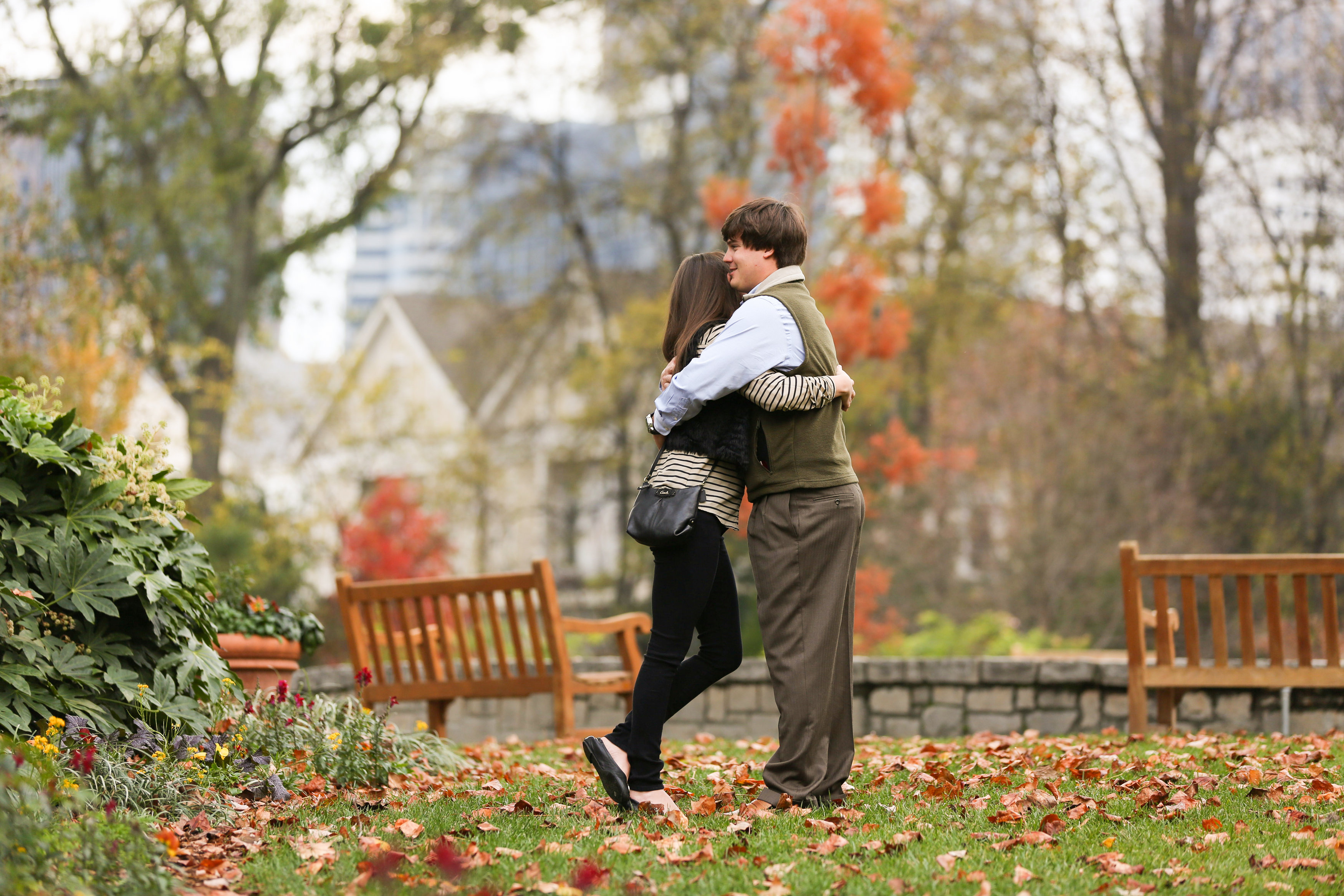 Image 12 of Alex and Lindsey | Atlanta Botanical Gardens Proposal