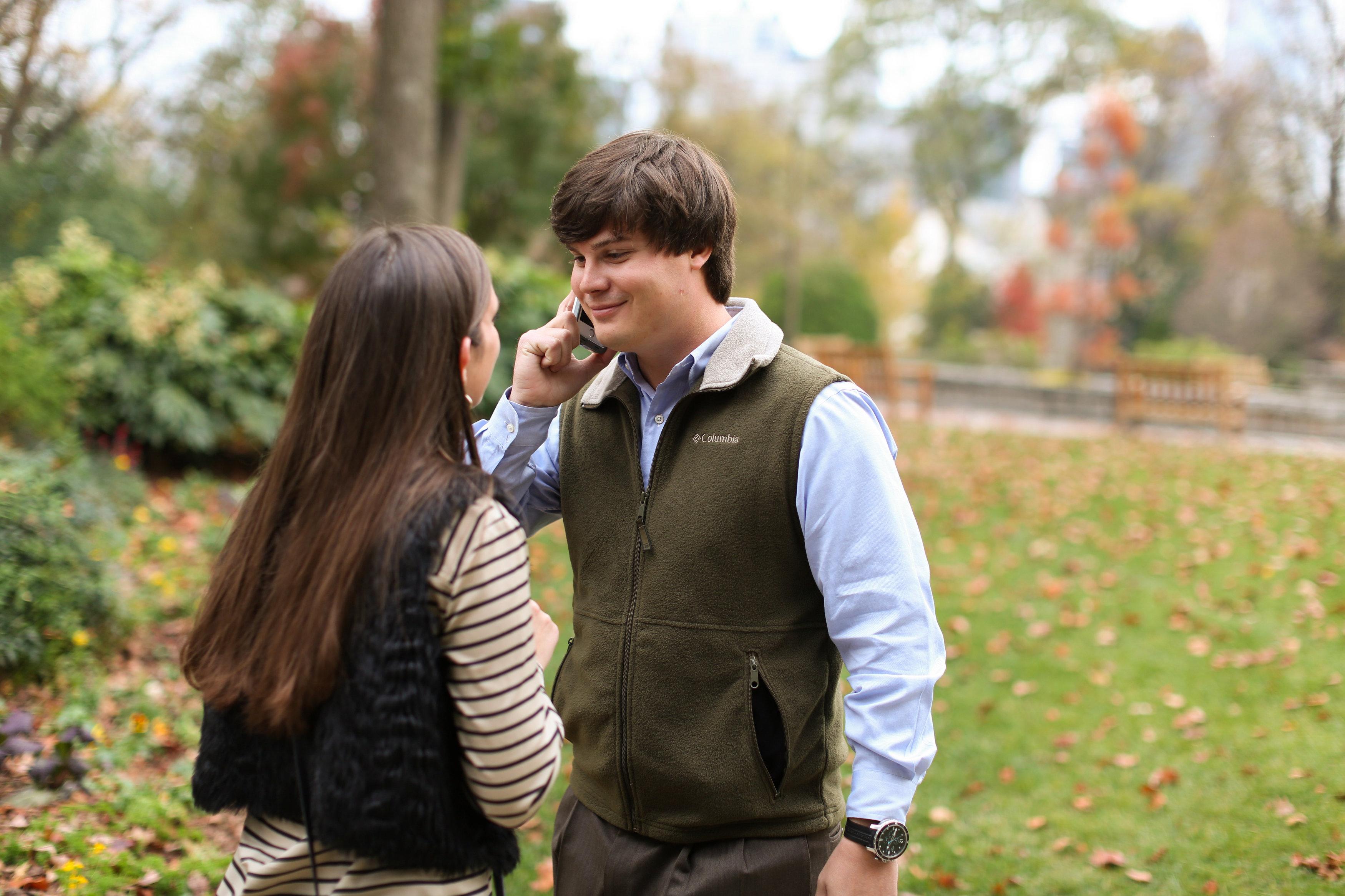 Image 13 of Alex and Lindsey | Atlanta Botanical Gardens Proposal