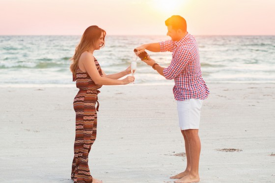 Marriage Proposal on the Beach_133772_low
