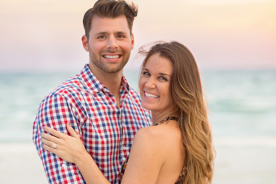 Image 20 of Amazingly Beautiful Beach Proposal | Adriano + Julianne