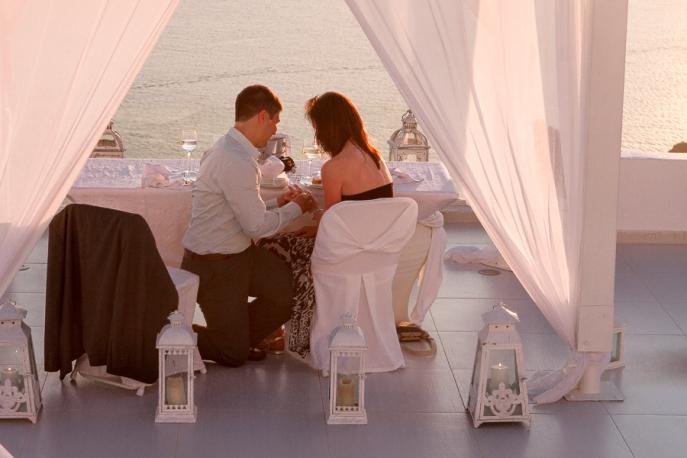 Image 7 of Julianne and Maik | Santorini Marriage Proposal