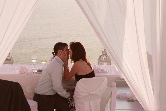 Image 8 of Julianne and Maik | Santorini Marriage Proposal