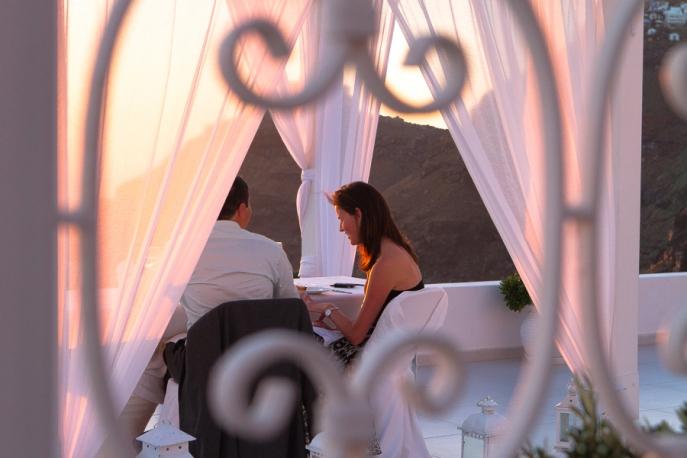 Image 11 of Julianne and Maik | Santorini Marriage Proposal