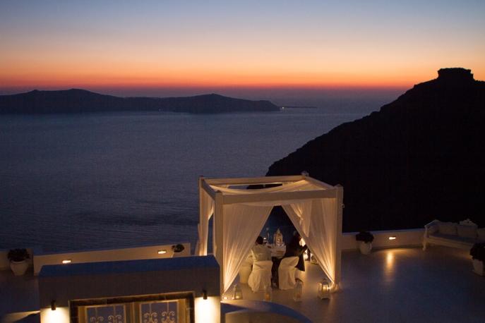 Image 1 of Julianne and Maik | Santorini Marriage Proposal