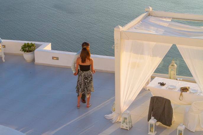 Image 3 of Julianne and Maik | Santorini Marriage Proposal