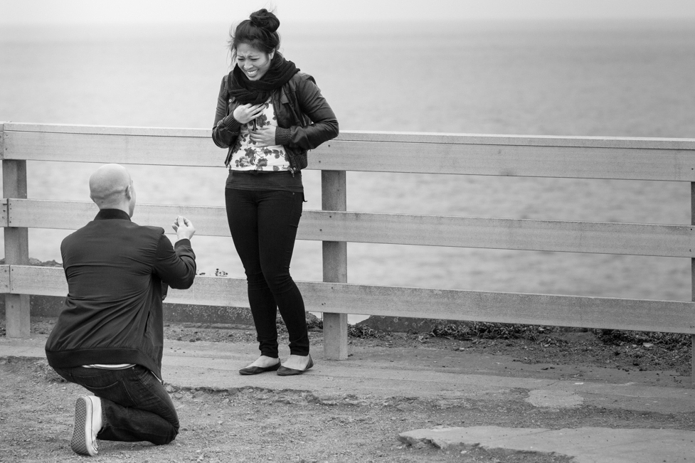 best marriage proposal ever_Bay Area Proposal