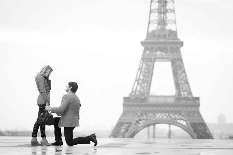 best marriage proposal ever_Proposal in Paris