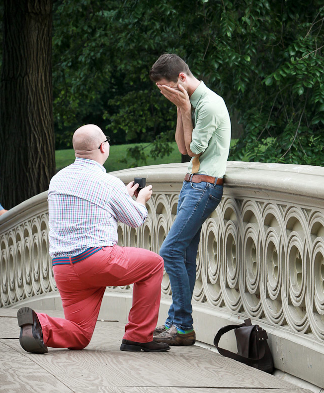 best marriage proposal ever_Same-Sex Proposal