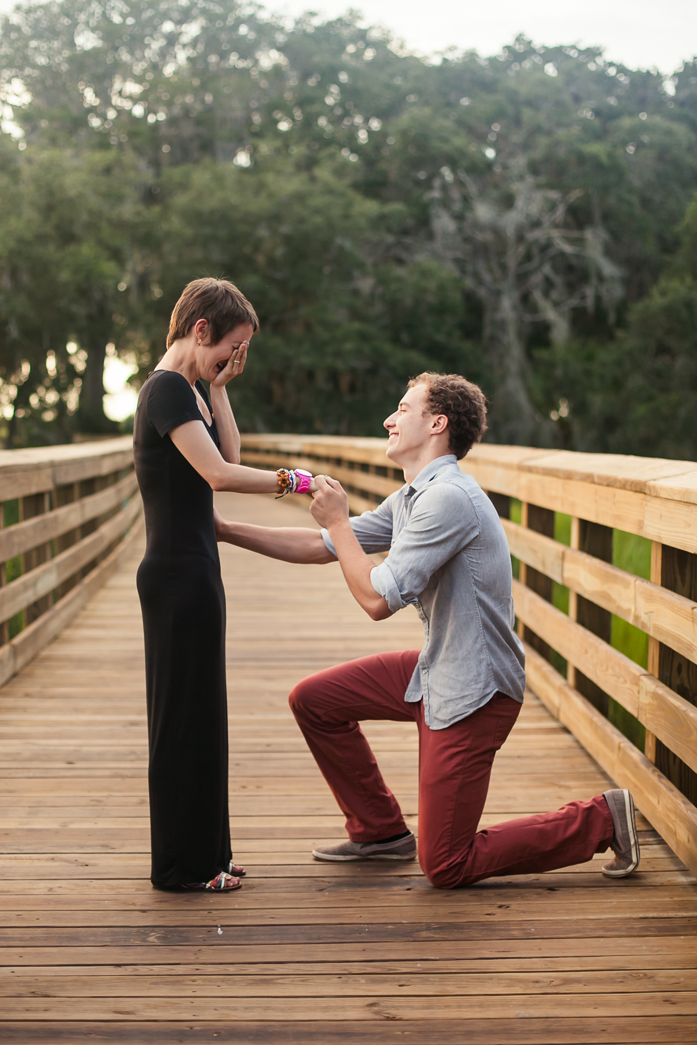 best marriage proposal ever_Sunset Proposal