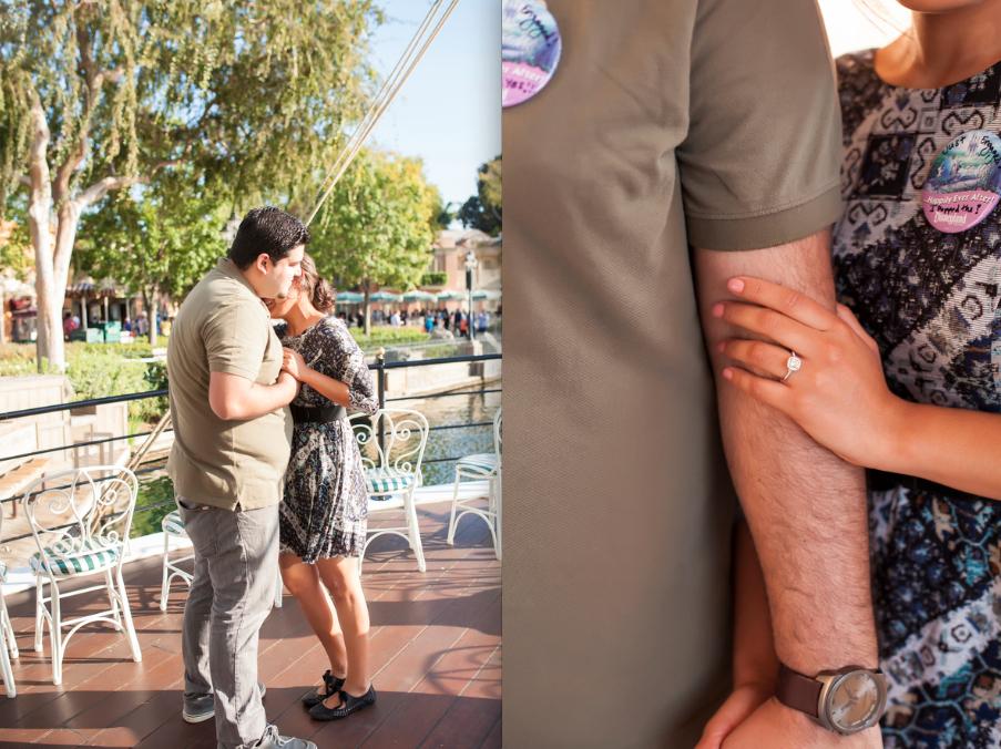 Image 20 of Christina and Jon; Proposal at Disney