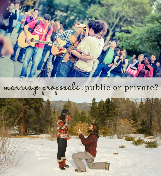 Image 1 of Public vs. Private Marriage Proposal Tips