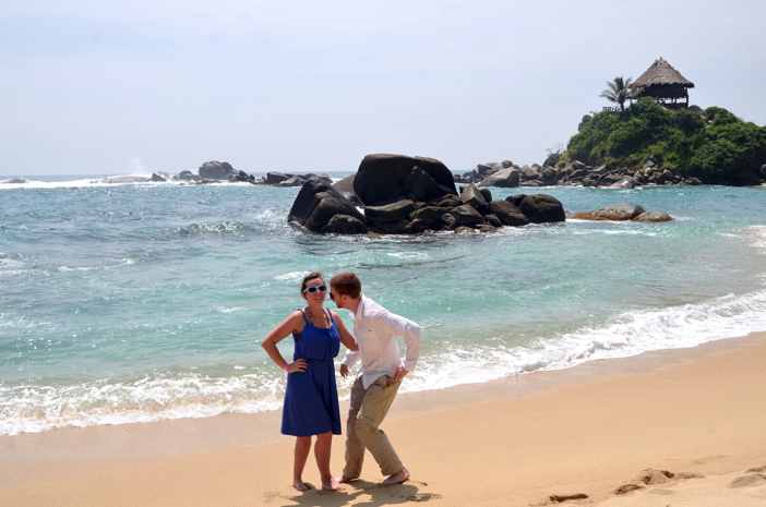 Image 1 of Michelle and John | Marriage Proposal on the Beach