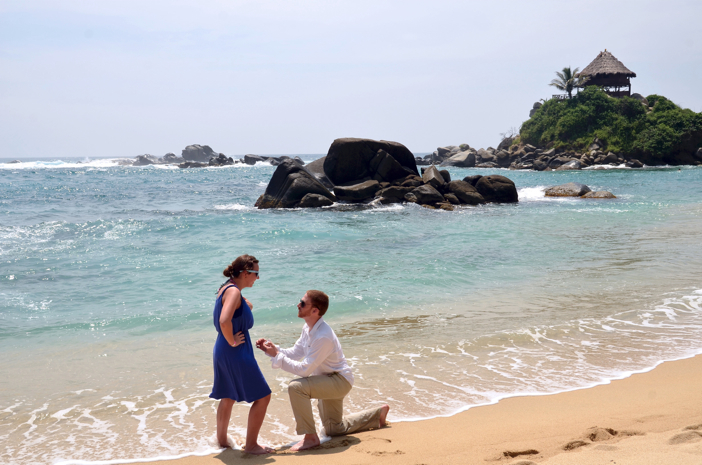 Image 2 of Michelle and John | Marriage Proposal on the Beach