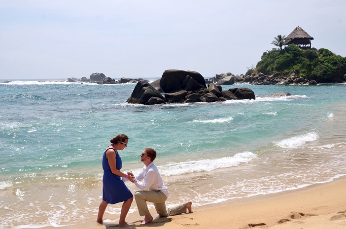 Image 3 of Michelle and John | Marriage Proposal on the Beach