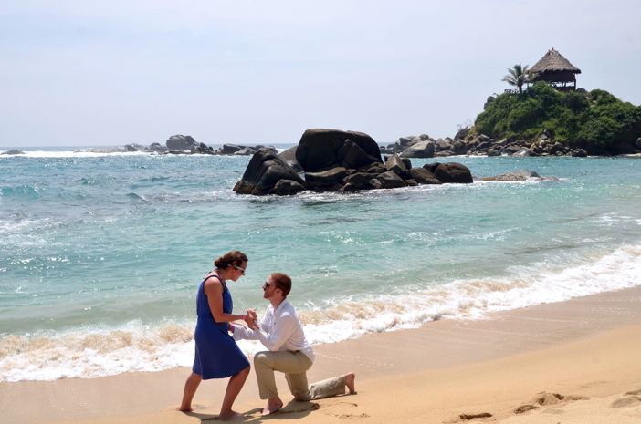 Image 4 of Michelle and John | Marriage Proposal on the Beach