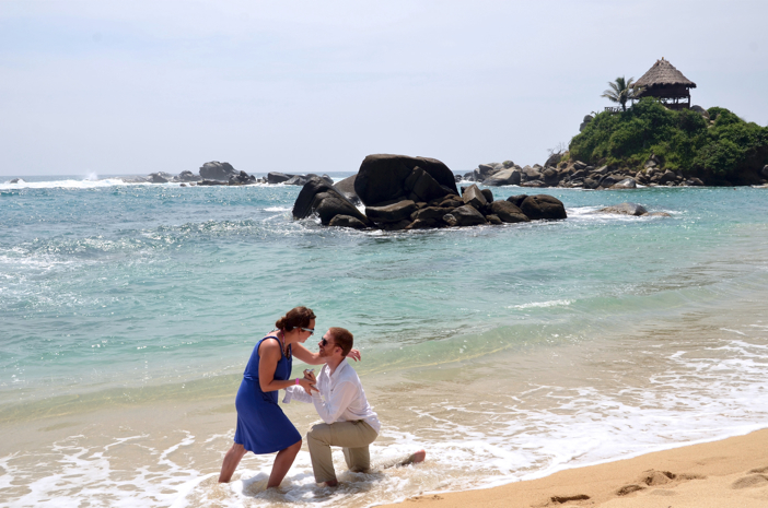 Image 5 of Michelle and John | Marriage Proposal on the Beach
