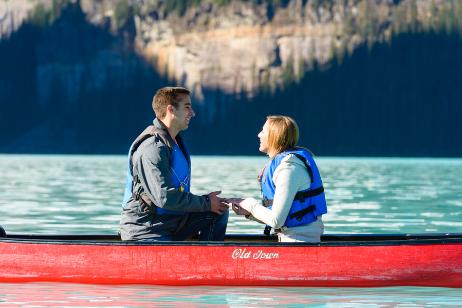 Image 9 of Unbelievably Beautiful Proposal at Lake Louise