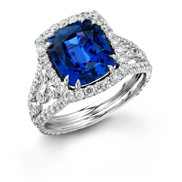 Image 5 of 8 Colored Engagement Rings That ROCK
