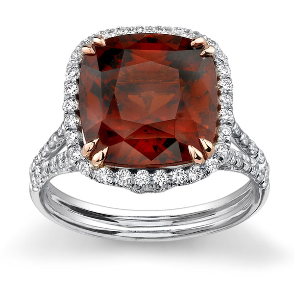 Image 2 of 8 Colored Engagement Rings That ROCK