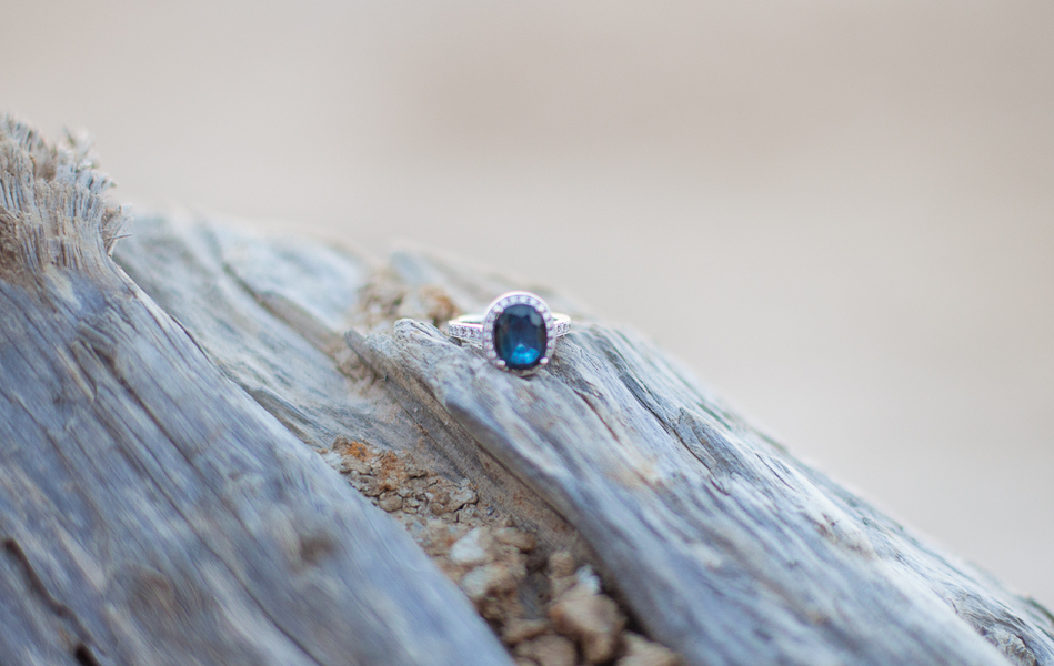 Image 3 of 8 Colored Engagement Rings That ROCK