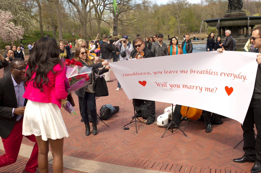 Image 11 of Central Park Marriage Proposal