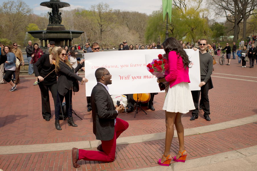 Image 12 of Central Park Marriage Proposal