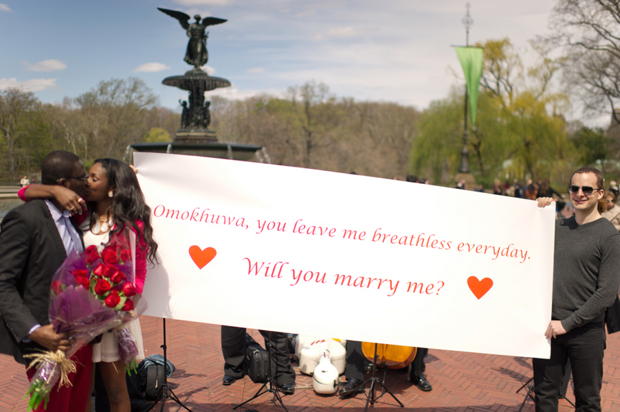 Image 15 of Central Park Marriage Proposal