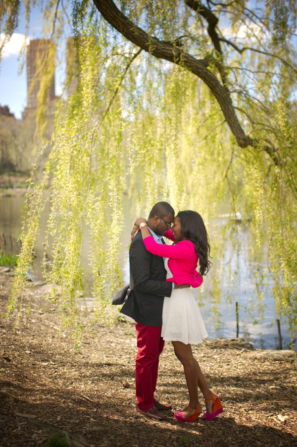Image 19 of Central Park Marriage Proposal
