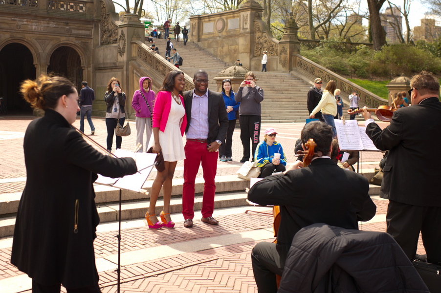 Image 6 of Central Park Marriage Proposal