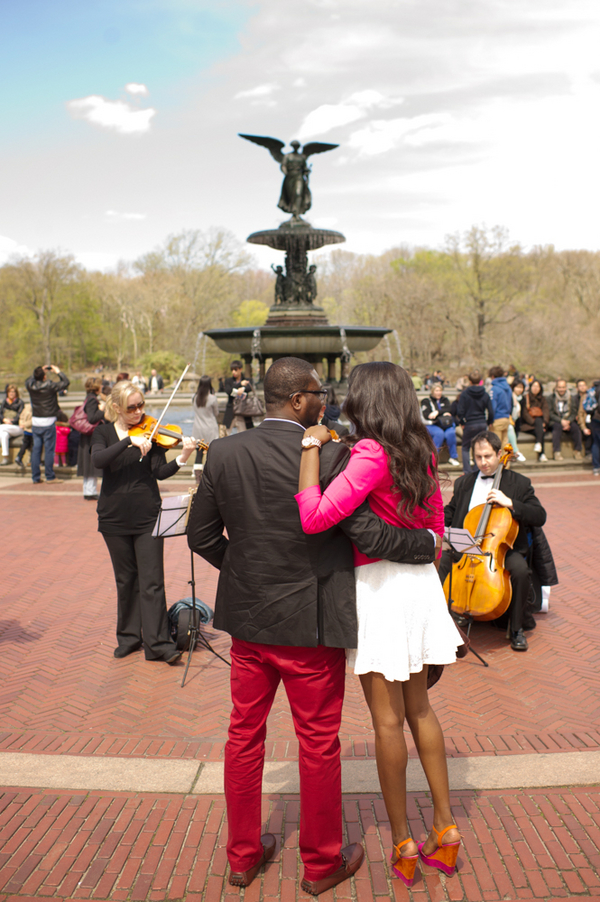 Image 7 of Central Park Marriage Proposal
