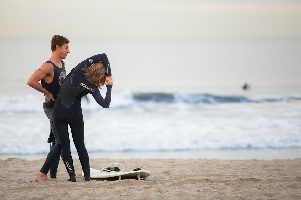 Image 10 of Awesome Surfing Marriage Proposal | Rob and Jessica