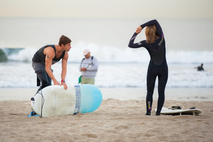 Image 11 of Awesome Surfing Marriage Proposal | Rob and Jessica