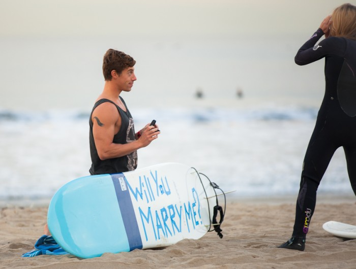 Image 15 of Awesome Surfing Marriage Proposal | Rob and Jessica