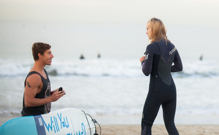 Image 16 of Awesome Surfing Marriage Proposal | Rob and Jessica