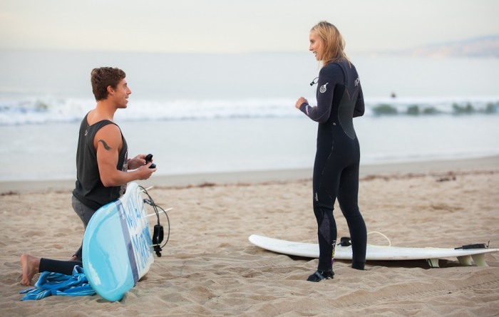 Image 17 of Awesome Surfing Marriage Proposal | Rob and Jessica