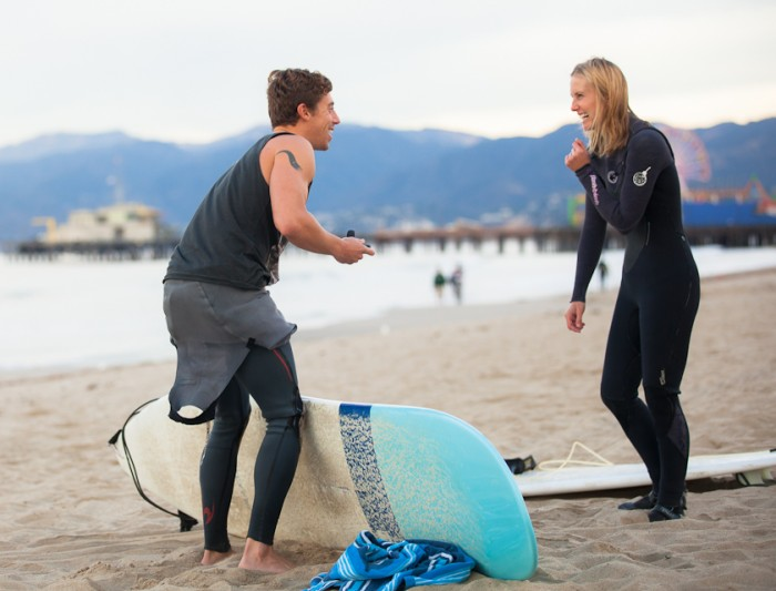 Image 21 of Awesome Surfing Marriage Proposal | Rob and Jessica