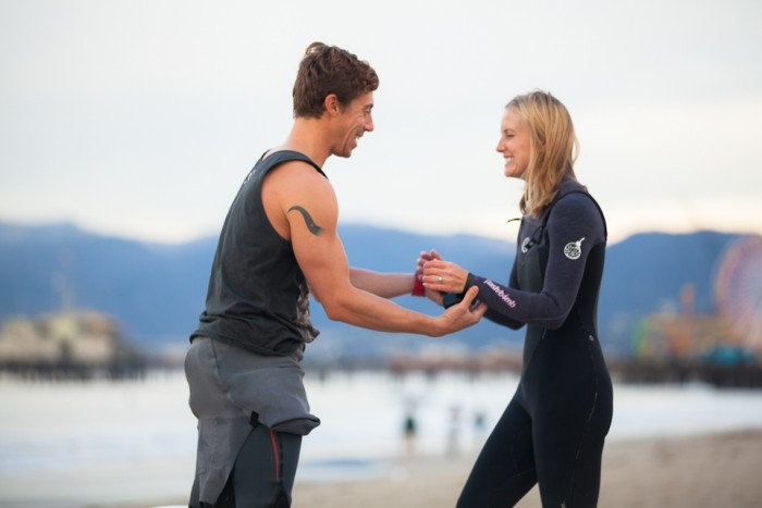 Image 23 of Awesome Surfing Marriage Proposal | Rob and Jessica