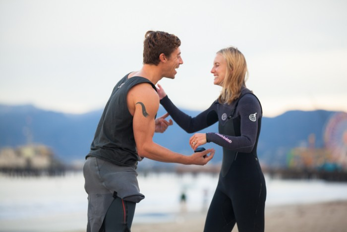 Image 24 of Awesome Surfing Marriage Proposal | Rob and Jessica