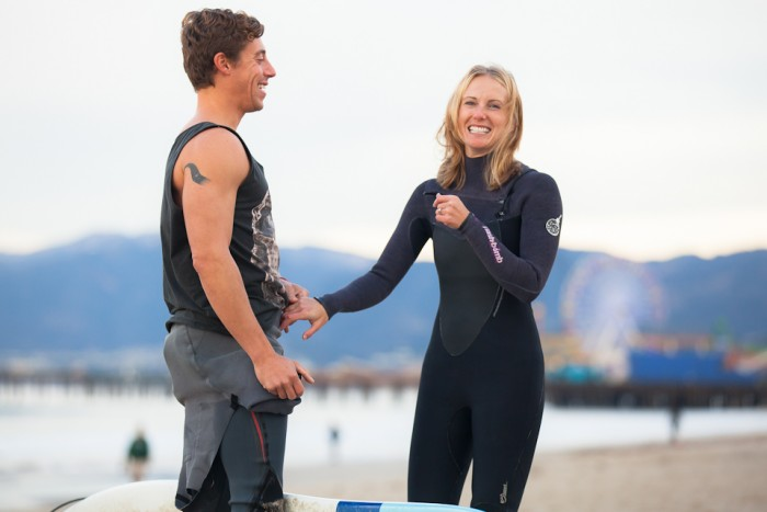 Image 28 of Awesome Surfing Marriage Proposal | Rob and Jessica