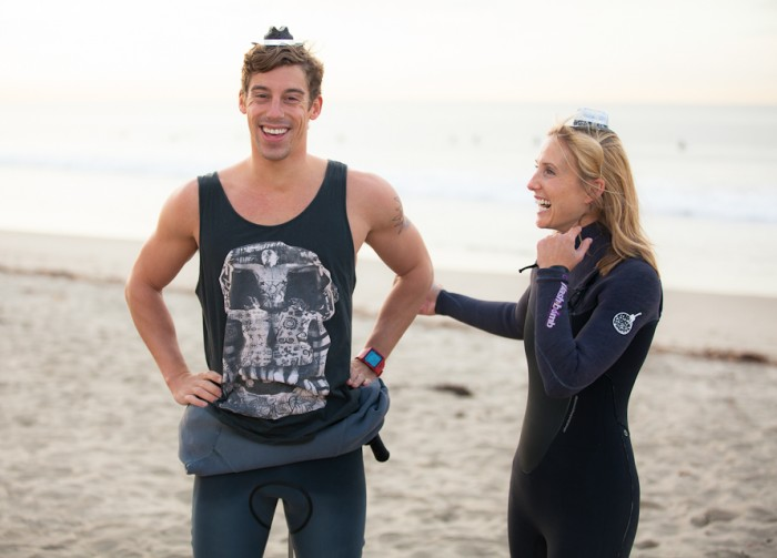 Image 30 of Awesome Surfing Marriage Proposal | Rob and Jessica