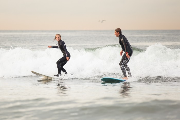 Image 32 of Awesome Surfing Marriage Proposal | Rob and Jessica