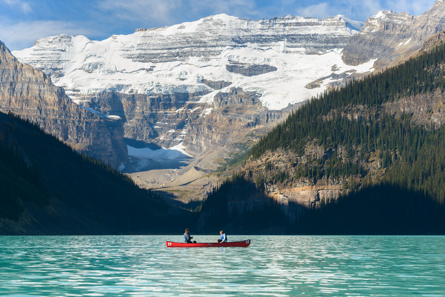 Image 3 of Unbelievably Beautiful Proposal at Lake Louise
