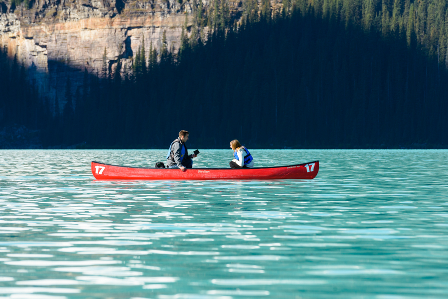 Image 4 of Unbelievably Beautiful Proposal at Lake Louise