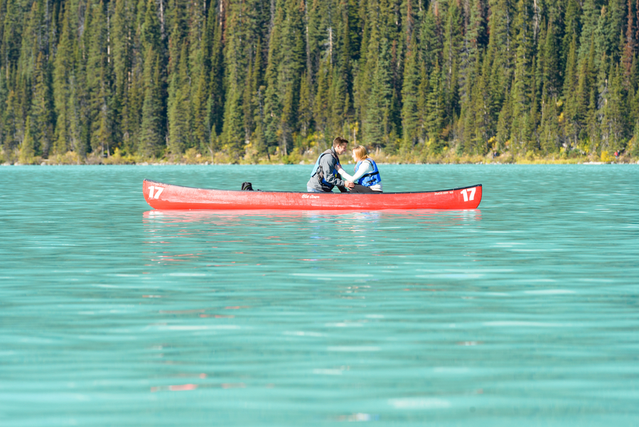 Image 7 of Unbelievably Beautiful Proposal at Lake Louise