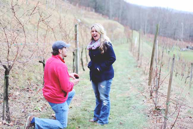 Image 3 of Jessica and Adam | Proposal at a Winery