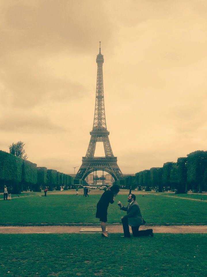 Image 5 of Ashlee and Rick | Eiffel Tower Marriage Proposal